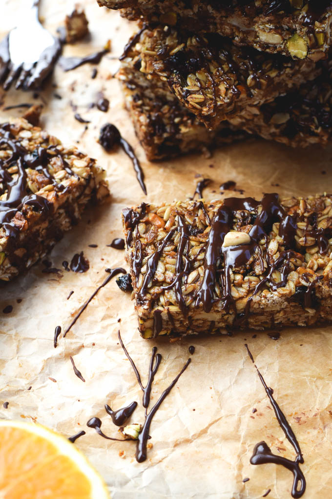 Tiki Bars! Nutty Tropical Fruit Granola Bars (Vegan + GF) (9)