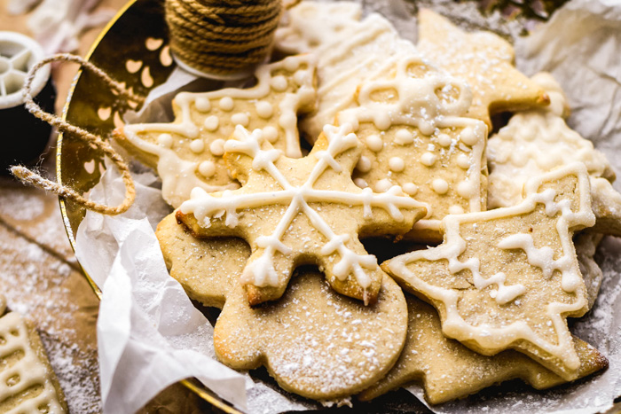 Cream Cheese Cut Out Sugar Cookies